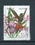 1991 Brazil Bird,oiseaux,vögel Used/gebruikt/oblitere - Gebruikt