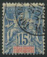 Diégo-Suarez (1892) N 30 (o) - Diégo-Suarez (1890-1898)