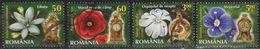 2013: Rumänien Mi.Nr. 6672, 6677, 6715 + 6718 Gest. (d253) / Roumanie Y&T No. 5650, 5655, 5693 + 5696 Obl. - Used Stamps