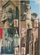 DDR 1987 MK  Nr.3063 - 3066 Historische Denkmale: Rolandsäulen ( D 1972) Günstige Verandkosten - DDR