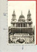 CARTOLINA VG REGNO UNITO - LONDON - St. Paul's Cathedral  - 9 X 14 - ANN. 1932 - St. Paul's Cathedral