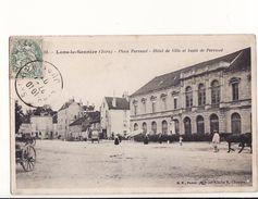 Lons Le Saunier - Place Perraud - Hôtel De Ville Et Buste De Perraud / Editions B.F. - Lons Le Saunier