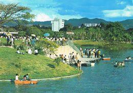 26148. Postal CARACAS (Venezuela) Parque Del Este. Centro Santa Cecilia Y Embarcaderos Botes - Venezuela