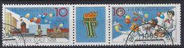 Germany (DDR) 1988  Pioniertreffen (o) Mi.3181-3182 - [6] Democratic Republic