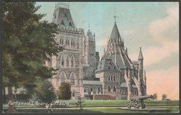 Parliament Library, Ottawa, Ontario, C.1910 - European Post Card Co Postcard - Ottawa