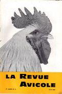 LA REVUE AVICOLEJUIN 1967  No 6 - Animaux