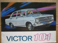 Catalogue Publicitaire De 1964 Automobile VAUXHALL VICTOR 101 - 20 PAGES - Voitures