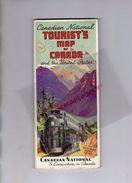 CANADA - BEAU DEPLIANT TOURISTIQUE 1939- CANADIAN NATIONAL RAILWAYS-CENTRAL VERMONT-QUEBEC-ONTARIO-MONTREAL-VANCOUVER- - Folletos Turísticos
