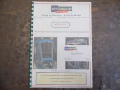 DPS Industire - Doc Publicitaire - Bapaume - 62 - Réparation Cabiens  - Carte De Visite - Old Paper