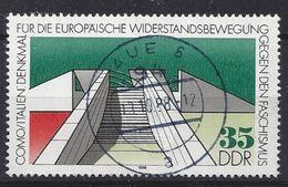 Germany (DDR) 1988  Internationale Mahn-und Gedenkstatten (o) Mi.3196 - Used Stamps
