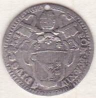 Vatican. Stato Pontificio , Grosso 1787 Anno XIII . Pie VI/Pio VI. ARGENT. KM# 1047 - Vatican