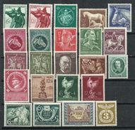 Alemania_III Reich_Lote De Sellos Nuevos Con Fijasello - Lots & Kiloware (max. 999 Stück)