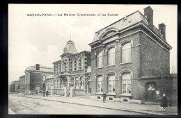 BELGIQUE - ERQUELINNES - La Maison Communale Et Les Ecoles - Erquelinnes