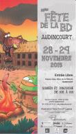 Marque Page Salon BD De AUDINCOURT 2015 Par TARTUF & LAPUSS - Marque-pages