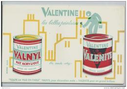 Buvard - Valentine - Paints
