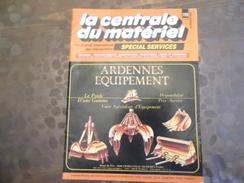 REVUE  La Cantrale Du Matériel - Travaux Public - N° 115 Fevrier 1990 - Batiment -transport - Old Paper