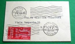 ITALIA REGNO 1931, ACCADEMIA NAVALE  CENT 20 SU BUSTA VIAGGIATA - 1900-44 Victor Emmanuel III