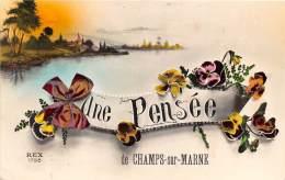 77 - SEINE ET MARNE / 77005 - Champs Sur Marne - Très Belle Carte Fantaisie - - Other Municipalities