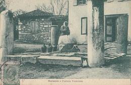 DURAZZO. - Fontana Veneziana. Carte Très RARE - Albania