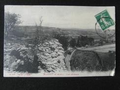 CP BLAMONT (MEURTHE ET MOSELLE) Vue Generale Animée Cp Chemin Du Fer - Blamont
