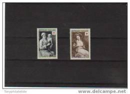 France Croix Rouge De 1953  N°966/67 Neuf*  Petite  Charnière, Cote 13,50€ - France
