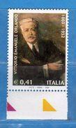 Italia ** - Anno 2002 - Vittorio Emanuele Orlando . Unif. 2703.    Vedi Descrizione. - 2001-10:  Nuovi