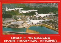 Virginia Hampton United States Air Force F-15 Eagles