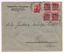 Busta Germania Hessen-> Pavia Periodo Weimar ( Inflazione ) - Allemagne