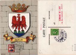 Blason De NICE - Cachet  Semaine De L' Air      (101047) - 1940-49