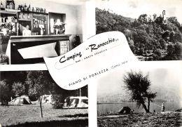 Piano Porlezza - Camping Ranocchio - Como