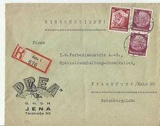 DR R- CV 1935 JENA - Deutschland