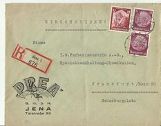 DR R- CV 1935 JENA - Alemania