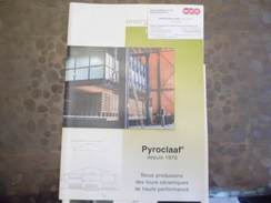 Document -carte De Visite -WBB - Martin & Pagenstecher Rohstoffbetriebe - Pyroclaaf - Fours Céramiques - - Old Paper