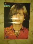 Poster Dave Mike Brant (podium Avril 76) - Plakate & Poster