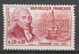 France   .    Yvert   .    1297        .       *     .      Neuf    Avec Charniere .    /    .     Mint-hinged - France