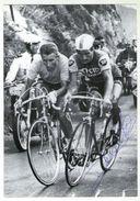 CPM   CYCLES MERCIER FRANCE -    AUTOGRAPHE RAYMOND POULIDOR -  AU VERSO SES PRINCIPALES VICTOIRES 1960 A 1973 - Wielrennen