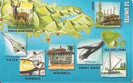 CARTE°-PUCE-NOUVELLE CALEDONIE-NC64-25U-05/99 -SC7-PUZZLE- N°4-UTILISE-TBE - New Caledonia