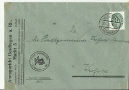 DR CV 1933 - Storia Postale