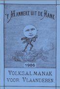 't Manneke Uit De Mane – 1986 (nr. 64) – Volksalmanak Voor Vlaanderen. - Books, Magazines, Comics