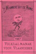 't Manneke Uit De Mane – 1987 (nr. 65) – Volksalmanak Voor Vlaanderen. - Books, Magazines, Comics
