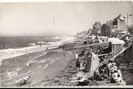 C 1368 SAINT AUBIN SUR MER  LA PLAGE 1960 - Saint Aubin