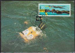 DDR 1985 MK  Nr.2962 Weltmeisterschaft Im Orientierungstauchen, Streckentaucher ( D 1610 ) Günstige Verandkosten - DDR