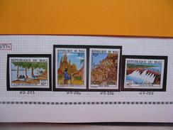 Timbre Non Dentelé   N° 223 à 225  Tourisme  1974 - Mali (1959-...)