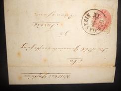 Autriche Lettre De Bad-gastein 1865 Pour Tarvis - Covers & Documents
