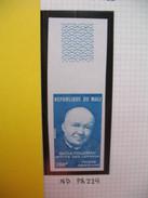 Timbre Non Dentelé   N° PA 229  Raoul Follereau   1974 - Mali (1959-...)
