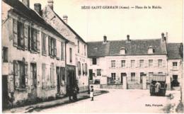 BEZU SAINT GERMAIN .... PLACE DE LA MAIRIE - Sin Clasificación
