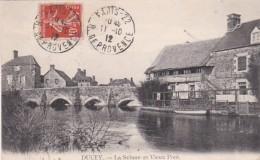 283380Ducey, La Sélune Et Vieux Pont (Timbre Postal 1912) - Ducey