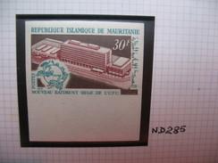 Timbre Non Dentelé   N° 285  Nouveau Batiment Du Siège De L'U.P.U.   1970 - Mauritania (1960-...)