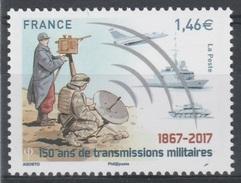 France, Military Communications, 2017, MNH VF - Francia