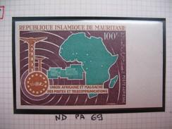 Timbre Non Dentelé   N° PA 69  UAMPT   1967 - Mauritanie (1960-...)